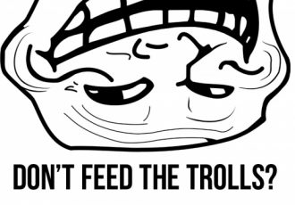 Haters y trolls: don't feed the troll