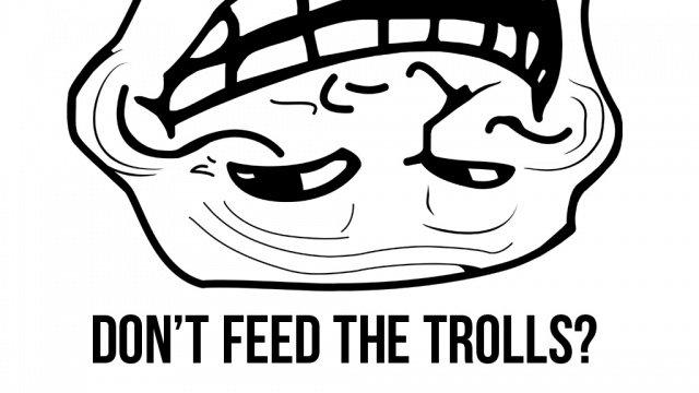 Haters y trolls: don't feed the troll