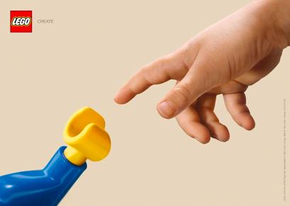 El arquetipo del creador, ejemplo lego