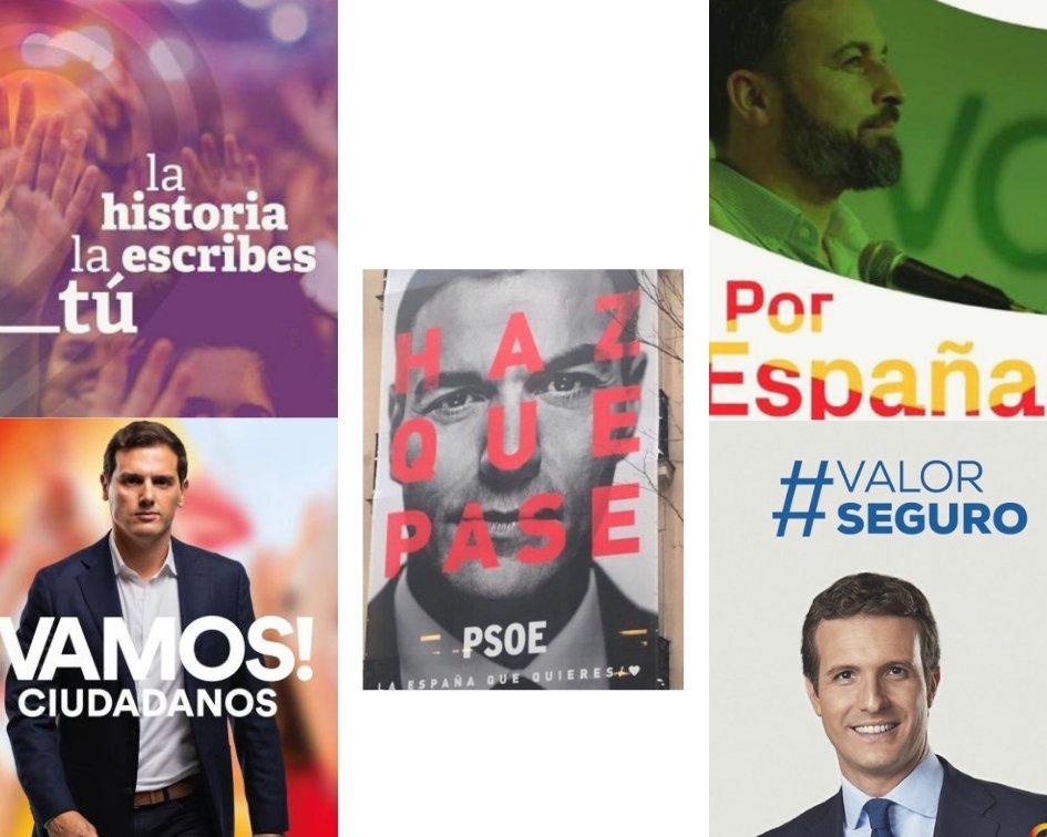 Storytelling en las elecciones generales españolas