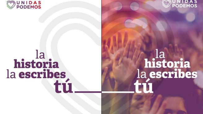 """El storytelling en las elecciones generales: Podemos: """"La historia la escribes tú"""""""