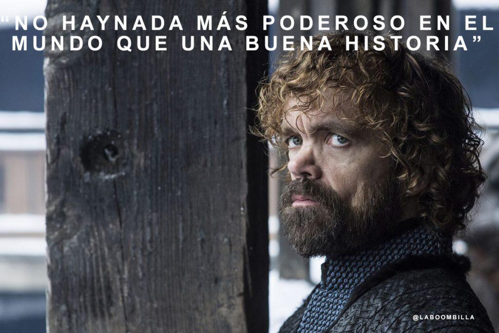 Lo que Tyrion Lannister nos enseñó sobre storytelling
