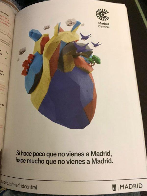 Los mejores copys publicitarios de la historia: Madrid Central