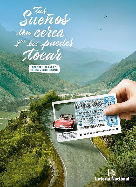 Copys publicitarios que molan: Lotería Nacional