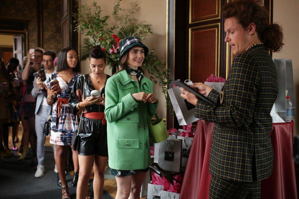Mentiras marketinianas de Emily in Paris